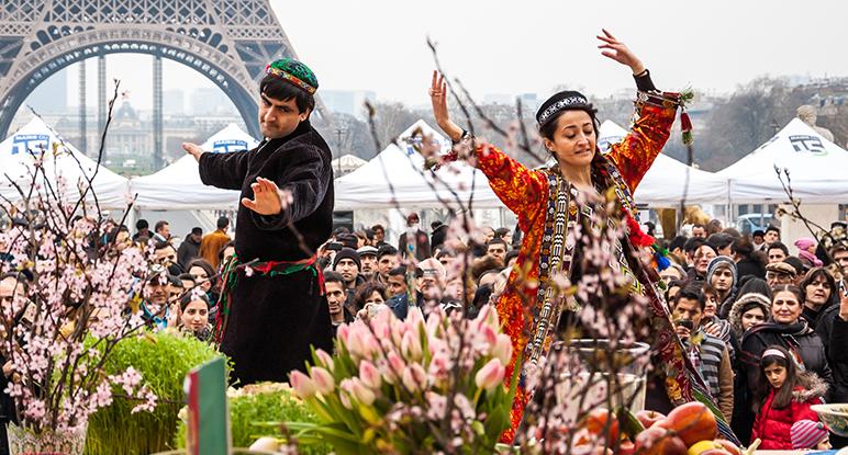 Beschreibung Welttag Nouruz Jahrestag