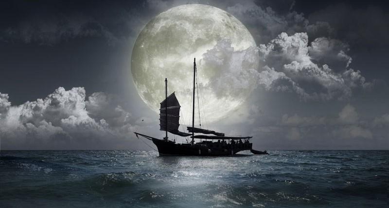 Beschreibung Mondphasen Vollmond