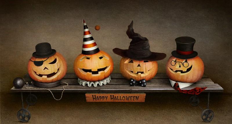 Beschreibung Feiertag Halloween