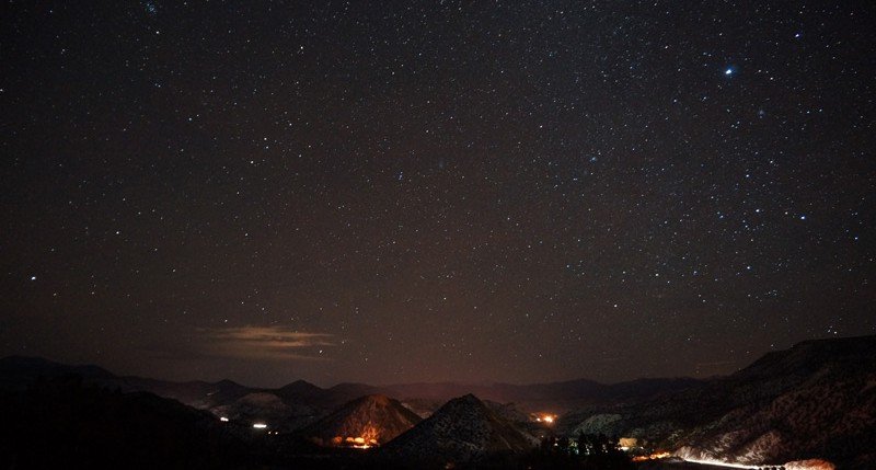 Beschreibung Naturereignisse Sternschnuppen-Maximum der Quadrantiden 2014