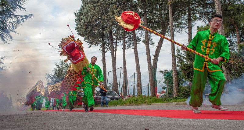 Beschreibung Feiertag Chinesisches Neujahrsfest 2014