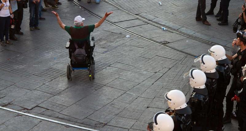 Beschreibung Aktionstag Europäischer Protesttag zur Gleichstellung von Menschen mit Behinderung 2015