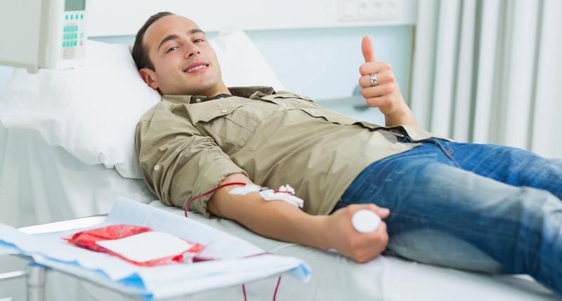 Beschreibung Aktionstag Weltblutspendetag 2015