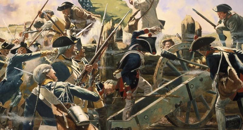 Beschreibung Gedenktag Bennington Battle Day 2015