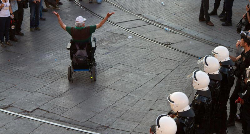 Beschreibung Aktionstag Europäischer Protesttag zur Gleichstellung von Menschen mit Behinderung 2016