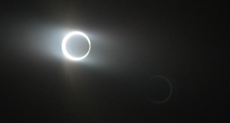 Beschreibung Naturereignisse Ringförmige Sonnenfinsternis 2016