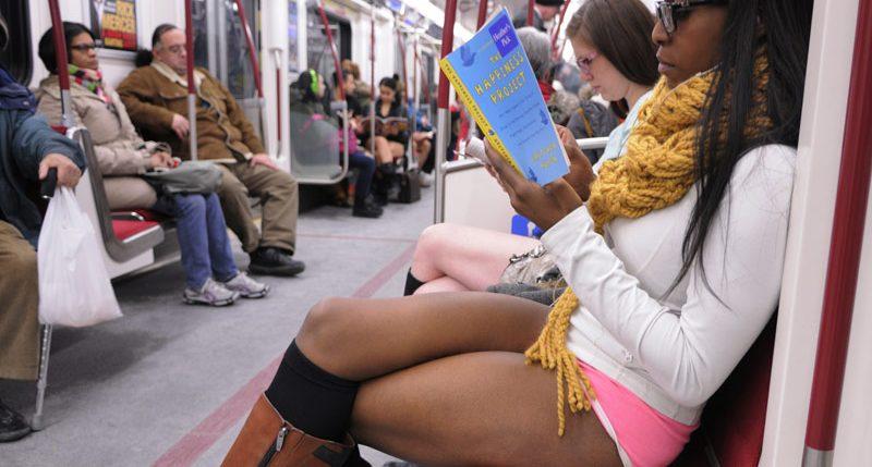 Alle Informationen und Hintergründe zum Aktionstage No Pants Subway Ride