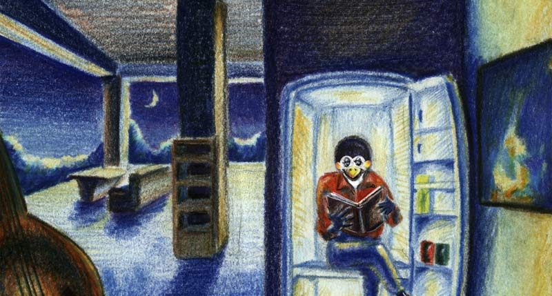 Am 30. Oktober ist Nacht des verfluchten Kühlschranks. Öffne Deinen Kühlschrank nur