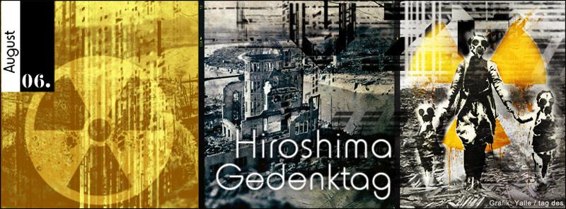 Am 6. August ist Hiroshima-Gedenktag. Weitere Informationen und Hintergründe zum Hiroshima-Gedenktag findest Du hier.